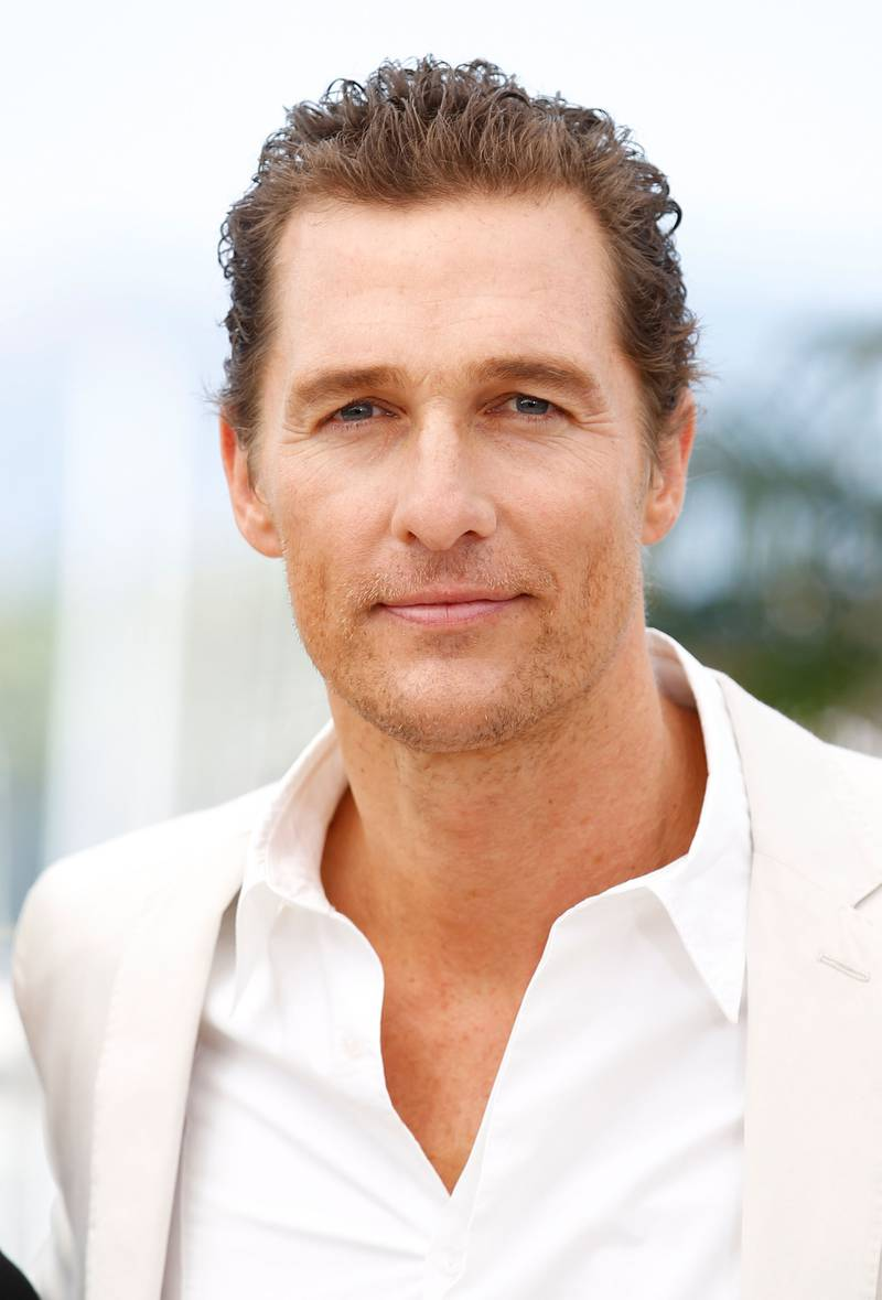 CANNES, FRANCE - MAY 26:  Actor Matthew McConaughey poses at the 'Mud' photocall during the 65th Annual Cannes Film Festival at Palais des Festivals on May 26, 2012 in Cannes, France.  (Photo by Andreas Rentz/Getty Images)