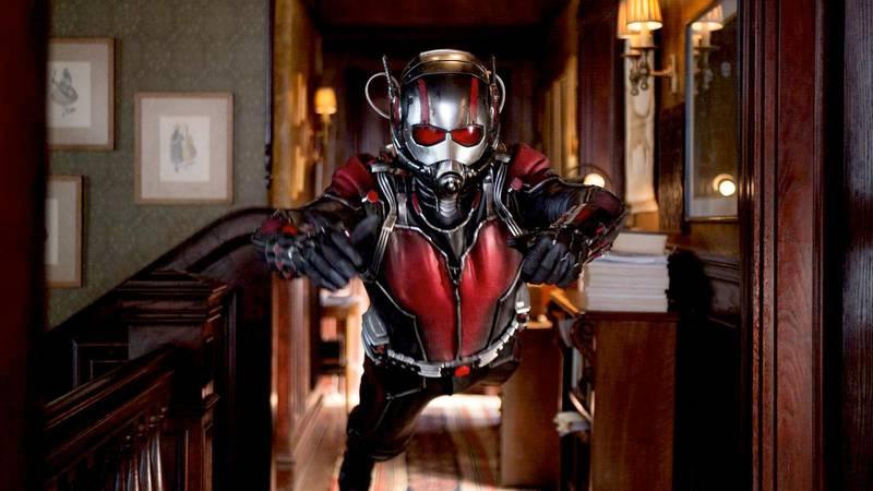 Handout of Antman film stills. Marvel's Ant-Man -- Scott Lang/Ant-Man (Paul Rudd). Photo Credit: Zade Rosenthal/ Marvel *** Local Caption ***  al26jl-Antman-cover..jpg