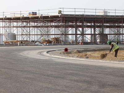 Jeddah's street circuit ahead of Saudi Arabian Grand Prix - in pictures