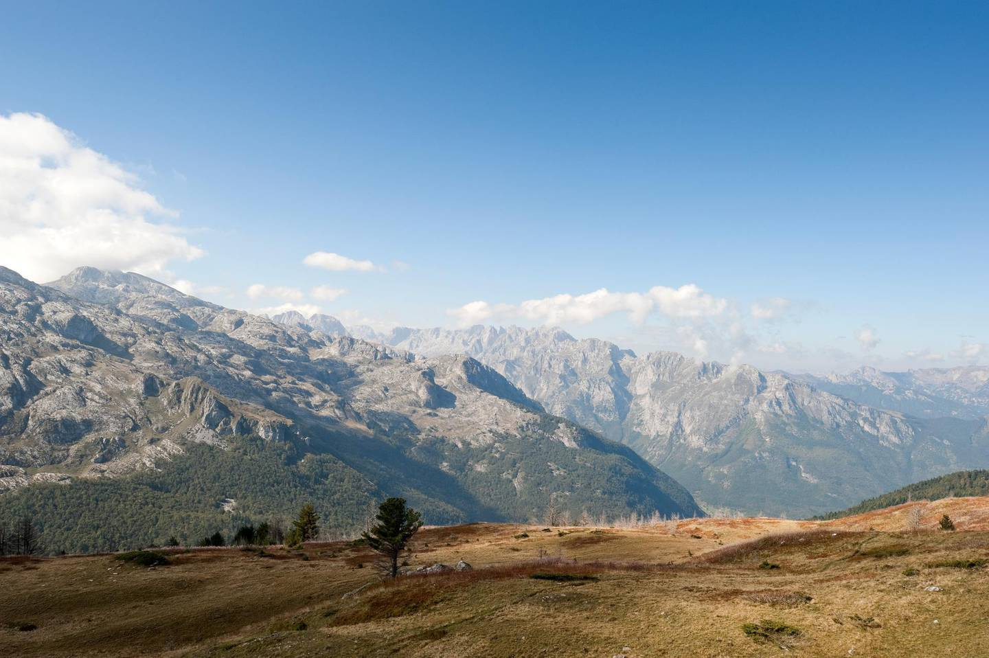 Peaks of the Balkans trail, hiking the stage between Plav and Vusanje in Montenegro © Rudolf Abraham