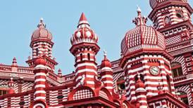 Calls to prayer from Sri Lanka's Jami Ul-Alfar Mosque provide comfort amid Covid lockdown
