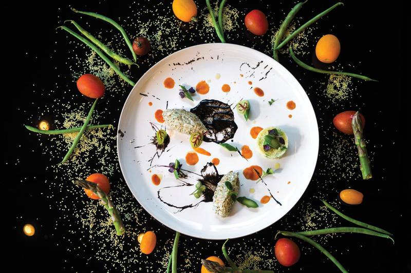 Francesco Guarracino - Smoked Cuttlefish Tartar With Coffee Powder And Lime