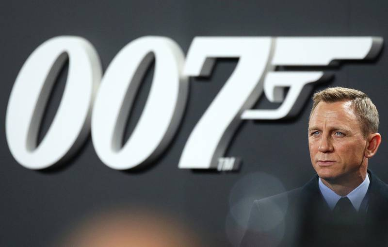 epa08272492 (FILE) - British actor/cast member Daniel Craig arrives for the premiere of  'Spectre' in Berlin, Germany, 28 October 2015 (reissued 05 March 2020). According to media reports, the release of the new James Bond film 'No Time To Die' has been delayed from April to November 2020, due to the spread of coronavirus.  EPA/JOERG CARSTENSEN  GERMANY OUT *** Local Caption *** 54145163