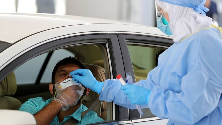 An image that illustrates this article Coronavirus: UAE records 104 new cases and zero deaths