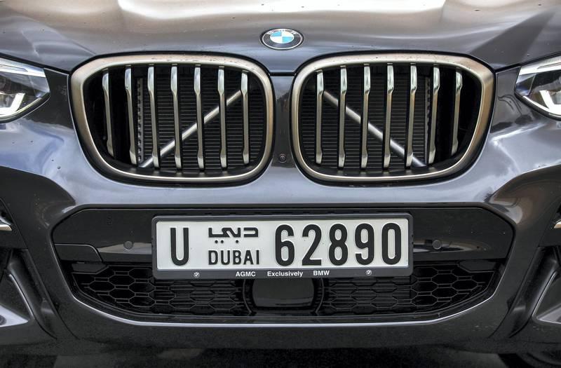 Dubai, December 17, 2017.  2018 BMW X3 M Series. shot at the Al Qudra area.Victor Besa for The National.MotoringReporter:  Adam Workman