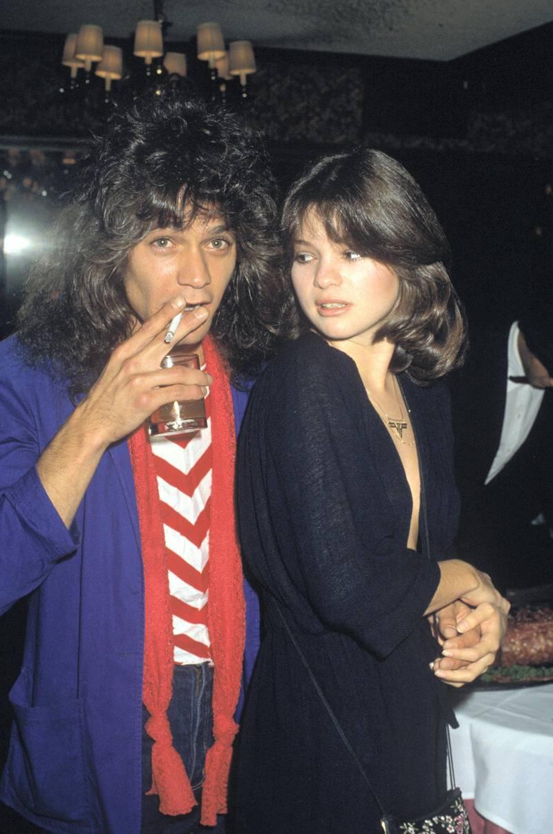 Eddie Van Halen and Valerie Bertinelli circa 1980s © 1980 Gary Lewis