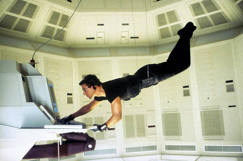 RN7G70 MISSION: IMPOSSIBLE, TOM CRUISE, 1996