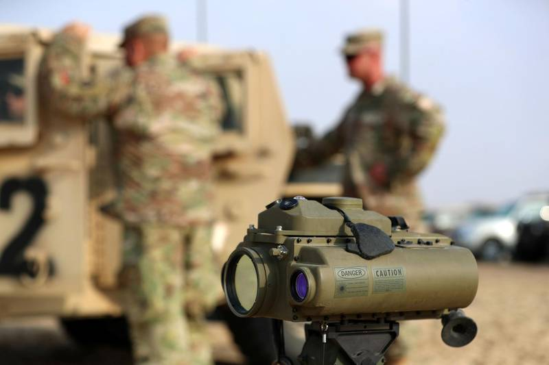 THESE PICTURES NEED TO BE OKAYED BY THE UAE ARMY! SPEAK TO DANIEL SANDERSON  Abu Dhabi, United Arab Emirates - Reporter: Daniel Sanderson: A joint military training exercise between the UAE and US recon forces using live ammunition. Wednesday, December 18th, 2019. Abu Dhabi. Chris Whiteoak / The National