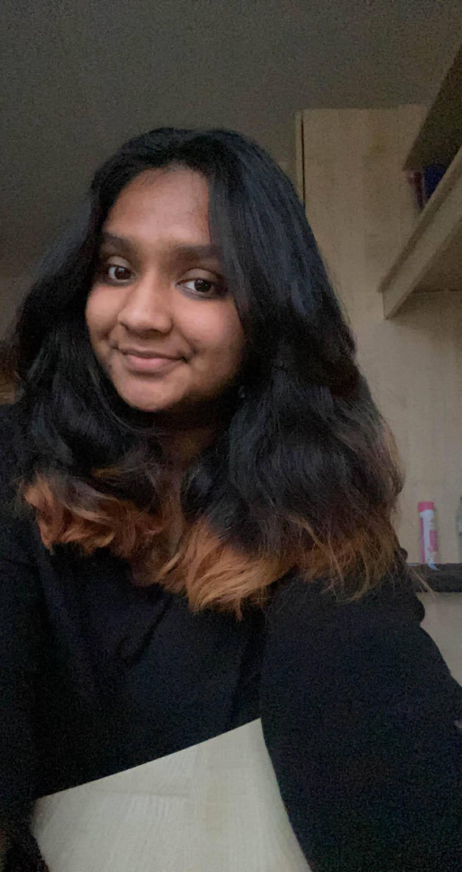 Nandini Shivakumar, an 18-year-old first-year student at Lancaster University. Courtesy Nandini Shivakumar