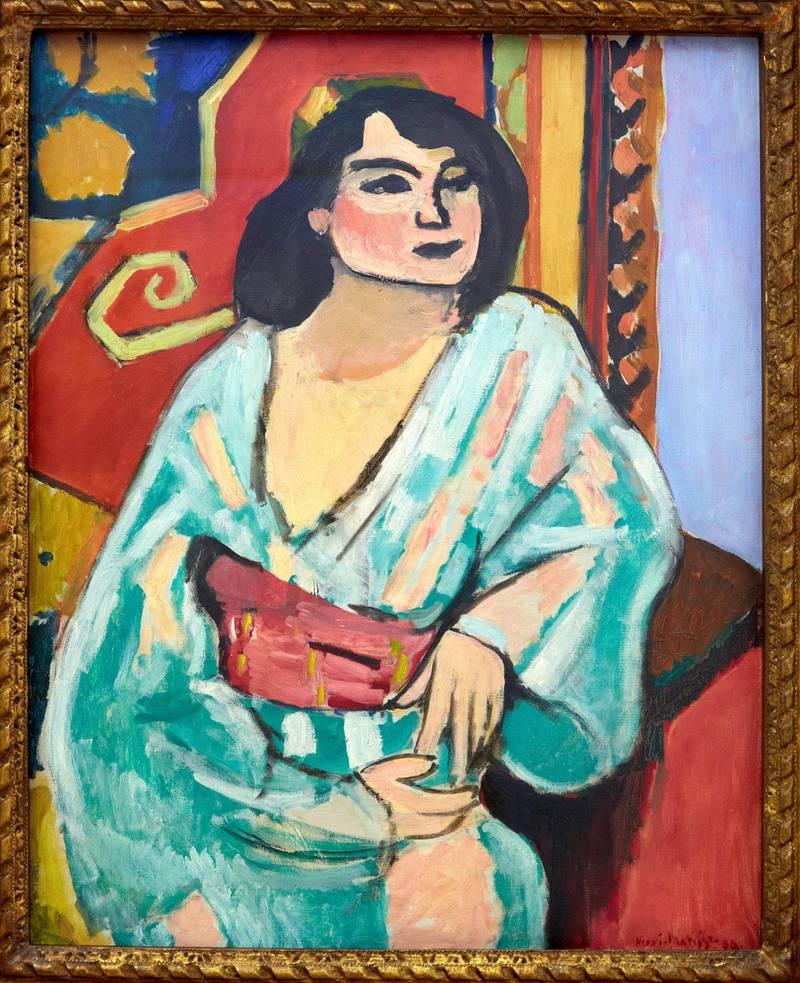 RKD4D8 ´L´Algerienne´, printemps 1909. Henri Matisse. Centre George Pompidou. Musee National d´Art Moderne. Paris. France. Alamy