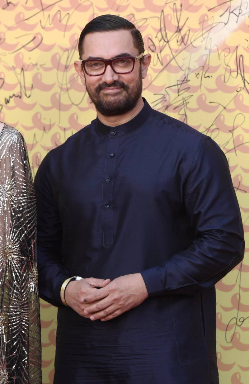 Mandatory Credit: Photo by Imaginechina/Shutterstock (10239191q) Aamir Khan Asian Film and TV Week launch arrivals, Beijing, China - 16 May 2019 Launch ceremony of Asian Film and TV Week during the Conference on Dialogue of Asian Civilizations (CDAC) in Beijing.