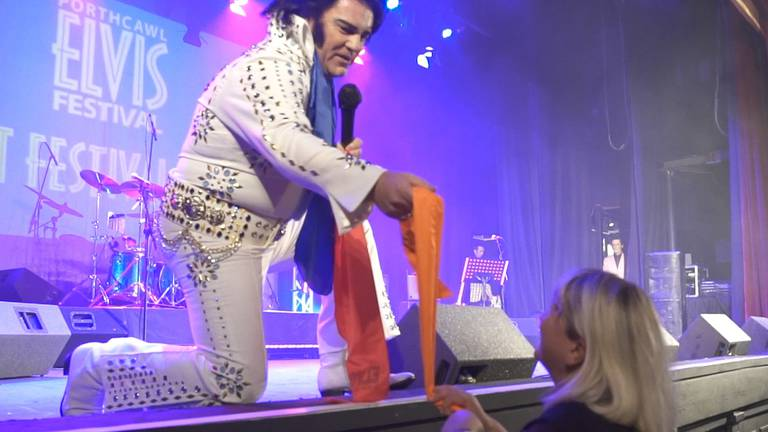 An image that illustrates this article When Elvis comes to town