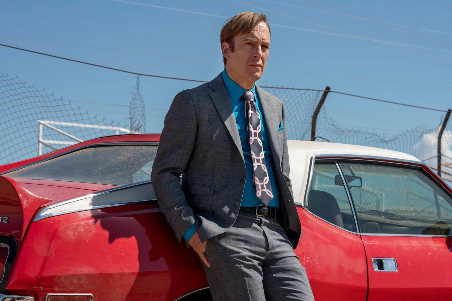 Bob Odenkirk as Jimmy McGill - Better Call Saul _ Season 5, Episode 3 - Photo Credit: Greg Lewis/AMC/Sony Pictures Television