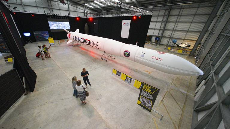 An image that illustrates this article UK to put 'rocket boosters' under space economy