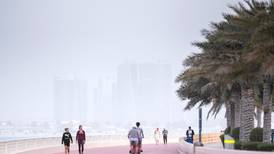 UAE weather: dusty and cloudy with a chance of rain