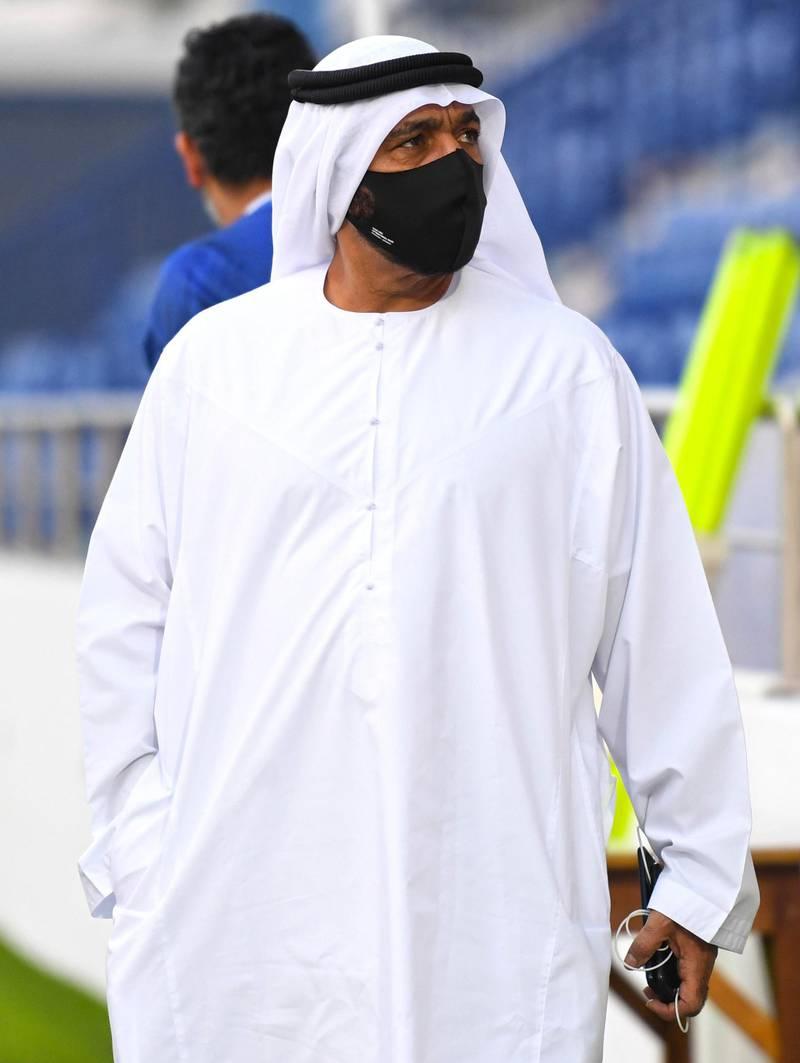 UAE football team train ahead of their international friendly against Uzbekistan in Dubai. Courtesy UAE FA