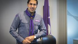 Scout's honour: lucky break bounced Ahmad Alhendawi into the line of duty