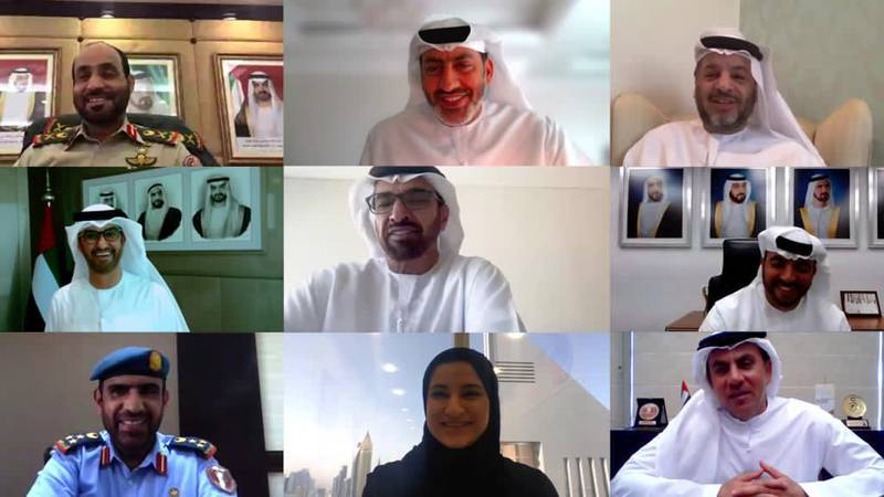 Virtual Meeting with the Defense industry Players. Courtesy ADNOC