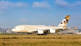 Australians leave Abu Dhabi on Etihad evacuation flight to Melbourne on Thursday