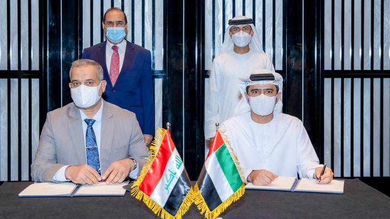An image that illustrates this article Abu Dhabi Ports signs deal with Iraqi ports company