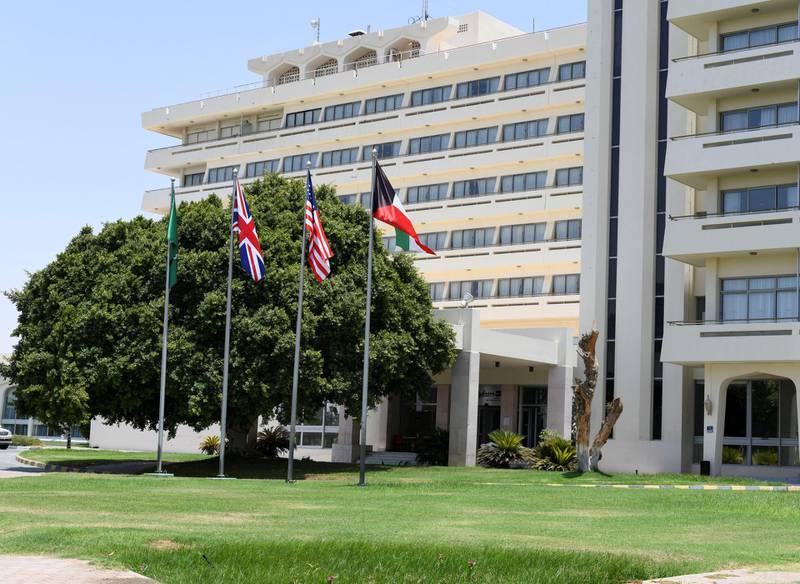 Radisson Blu-Al Ain Radisson Blu Hotel & Resort in Al Ain on June 10, 2021. Khushnum Bhandari/ The National Reporter: John Dennehy & James Langton News