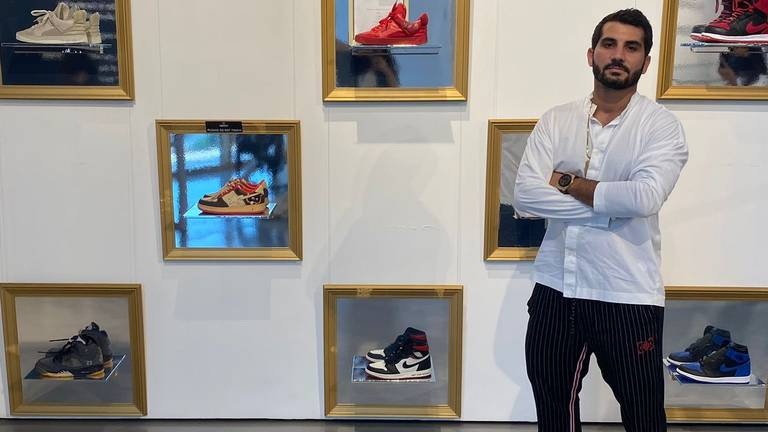 An image that illustrates this article How Ali Khalifeh is boosting Dubai's 'sneakerhead' community