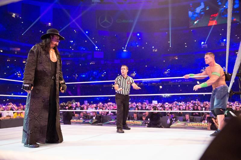 The Undertaker. Courtesy WWE