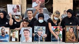 Beirut port blast victims' families demand justice as former army commander questioned