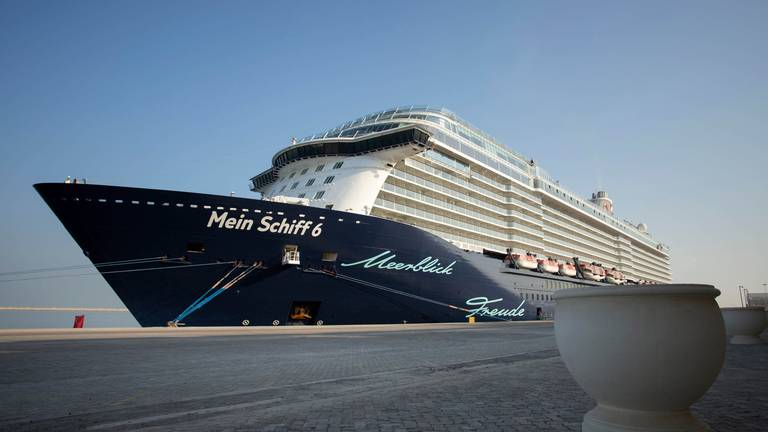An image that illustrates this article Dubai cruise season restarts with 500,000 visitors expected