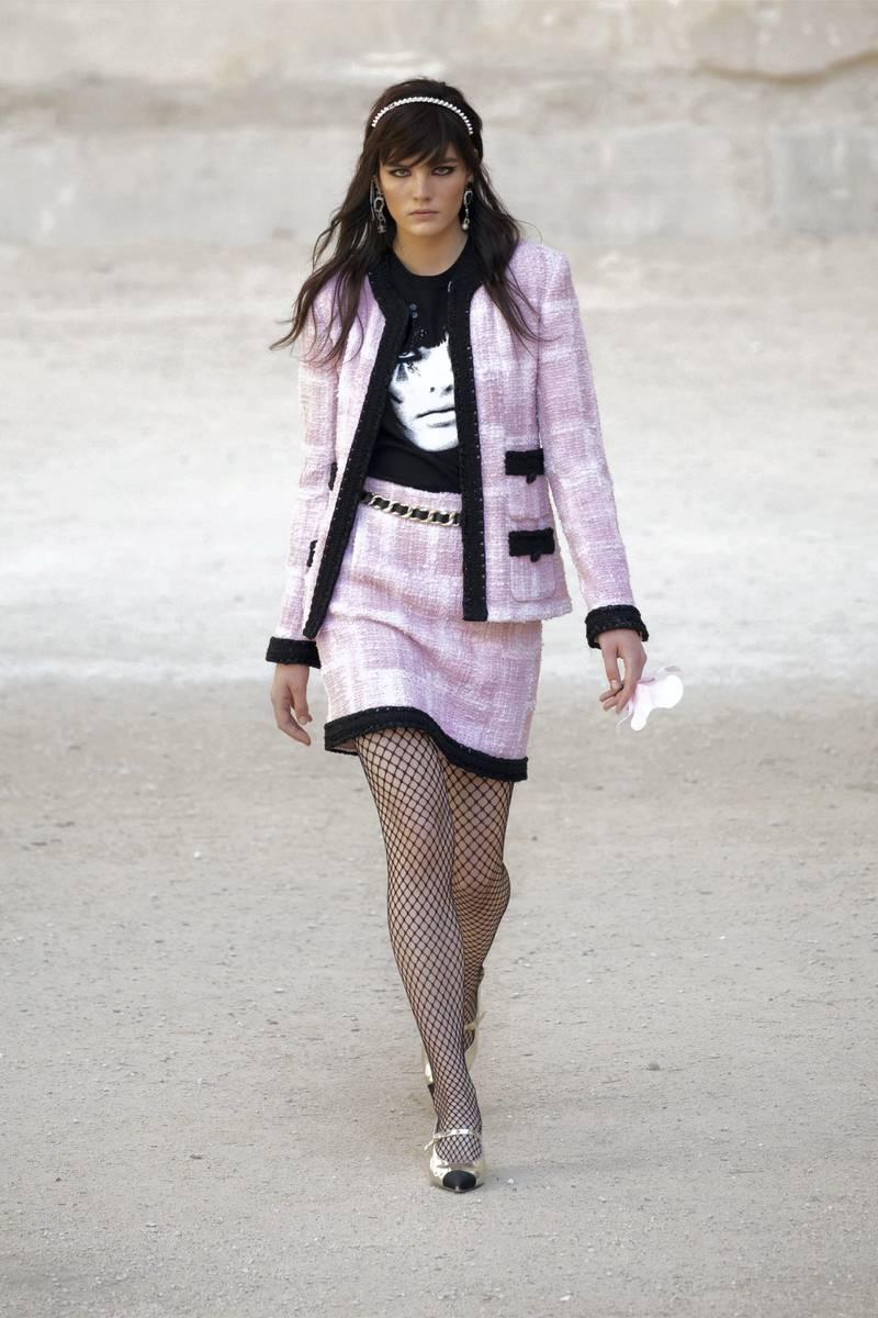 Chanel cruise fashion show. Courtesy Chanel