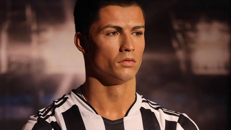 An image that illustrates this article Dubai's Madame Tussauds to swap Cristiano Ronaldo's 'wrong' jersey for Man United strip
