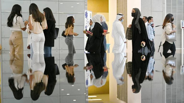 An image that illustrates this article University and airport buzzing again as Kuwait lifts Covid restrictions - in pictures