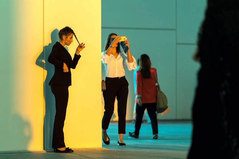 Abu Dhabi, United Arab Emirates, November 11, 2017:    Opening day at the Louvre Abbu Dhabi on Saadiyat Island in Abu Dhabi on November 11, 2017. Christopher Pike / The NationalReporter: James Langton, John DennehySection: News