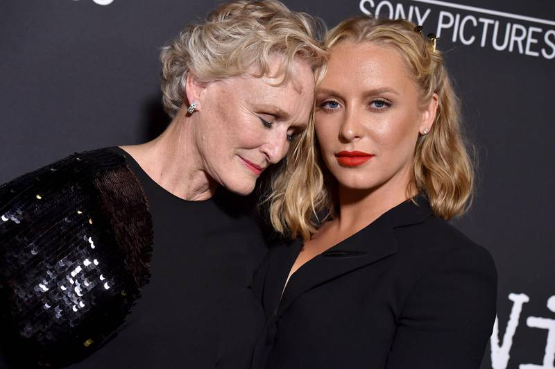WEST HOLLYWOOD, CA - JULY 23:  Glenn Close and daughter Annie Starke arrive at Sony Pictures Classics' Los Angeles premiere of 'The Wife' at Pacific Design Center on July 23, 2018 in West Hollywood, California.  (Photo by Axelle/Bauer-Griffin/FilmMagic)