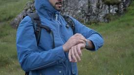 Sheikh Hamdan goes hiking in the Scottish Highlands