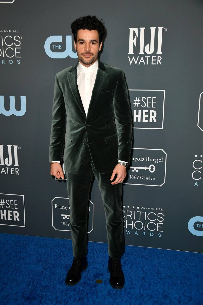 SANTA MONICA, CALIFORNIA - JANUARY 12: Christopher Abbott attends the 25th Annual Critics' Choice Awards at Barker Hangar on January 12, 2020 in Santa Monica, California.   Frazer Harrison/Getty Images/AFP