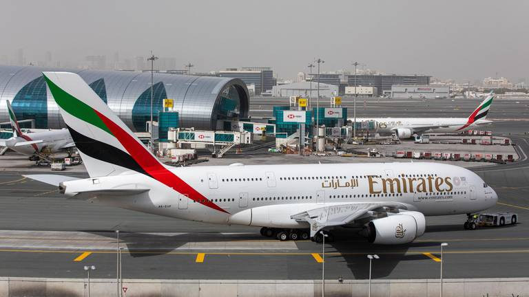 An image that illustrates this article Emirates to restore more A380 routes as travel demand continues to recover