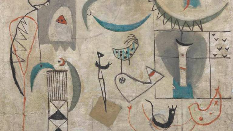 An image that illustrates this article Iraq Modernism leads Middle East's auction sales this season