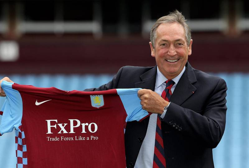 BIRMINGHAM, ENGLAND - SEPTEMBER 10:  Gerard Houllier, the new Aston Villa manager poses at Villa Park on September 10, 2010 in Birmingham, England.  (Photo by David Rogers/Getty Images)
