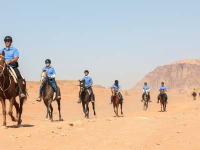 Endurance racing in Jordan's Wadi Rum - in pictures