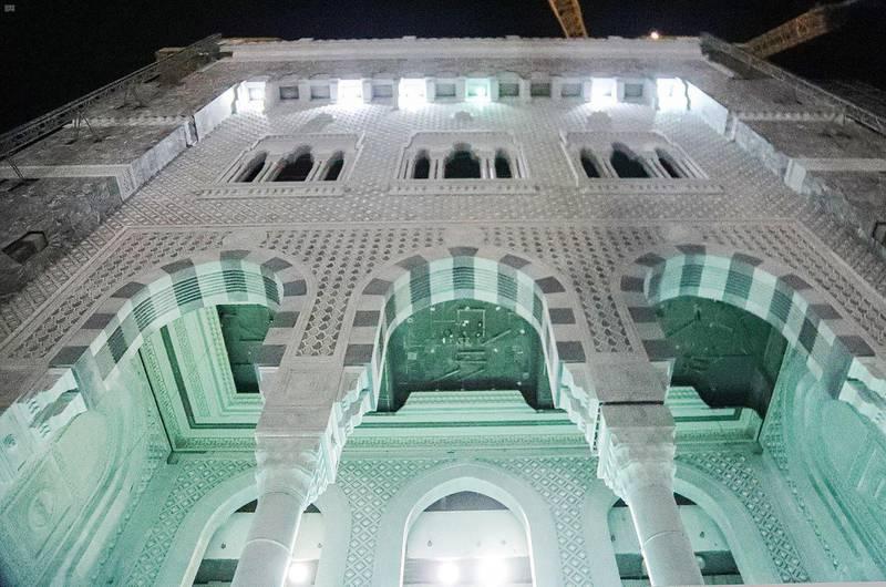 ع / عام / الرئيس العام لشؤون الحرمين يقف على جاهزية باب الملك عبدالعزيز بالمسجد الحرام  1441-11-29 هـ(واس)