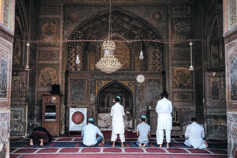 Wazir Khan Mosque. Photo: Christopher Wilton-Steer and The Aga Khan Development Network
