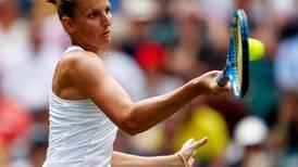Wimbledon: Karolina Pliskova 'improving on grass' after racing into third round