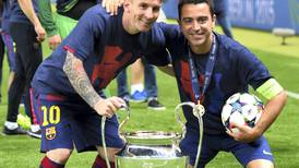 Barcelona presidential front-runner puts Lionel Messi and Xavi central to plans