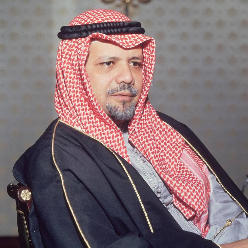 circa 1975:  Saudi Arabian oil minister Sheik Ahmed Zaki Yamani.  (Photo by Hulton Archive/Getty Images)