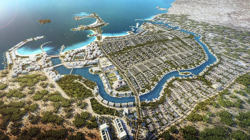 Place-maker IMKAN Announces New Coastal Destination 'AlJurf' during Cityscape Global 2018. Credit: Maram El Hendy
