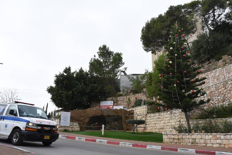 Mental health ahead of a corona Christmas in Nazareth. Rosie Scammell for The National