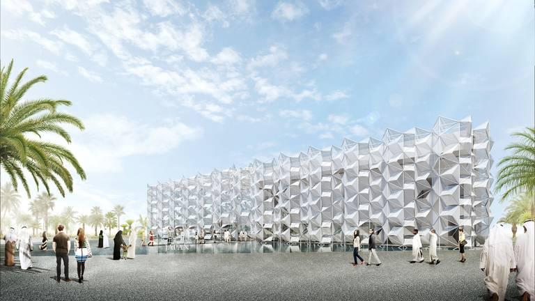 An image that illustrates this article Japan pavilion at Expo 2020 Dubai to start virtual tours