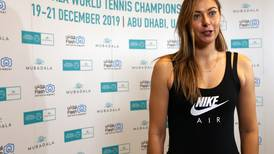 Maria Sharapova's 'internal fire' burning bright at Mubadala World Tennis Championship