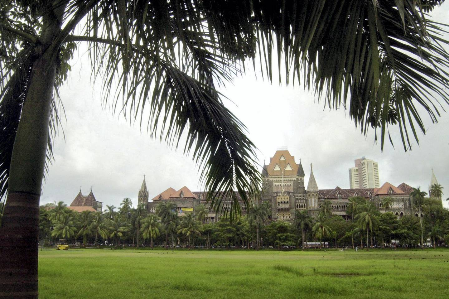 The colonial-era structure of the Bombay High Court stands in Bombay, India, Thursday, Aug 26, 2004. Across India, state governments and civic corporations have struck down old names of cities, but that of Bombay High Court remains the same since changing this requires an Act of India's Parliament. Countries like India, China, South Africa, Bangladesh and Sri Lanka have experienced re-naming bouts where colonial names have been altered. (AP Photo/Rajesh Nirgude)